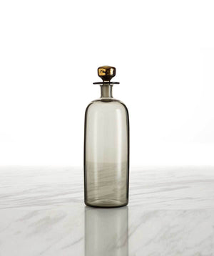 Hand-Blown Whiskey Decanter, Tall