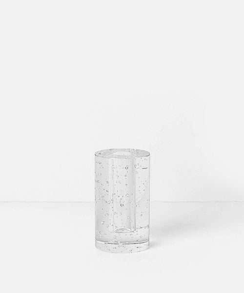 Bubble Glass Cylinder