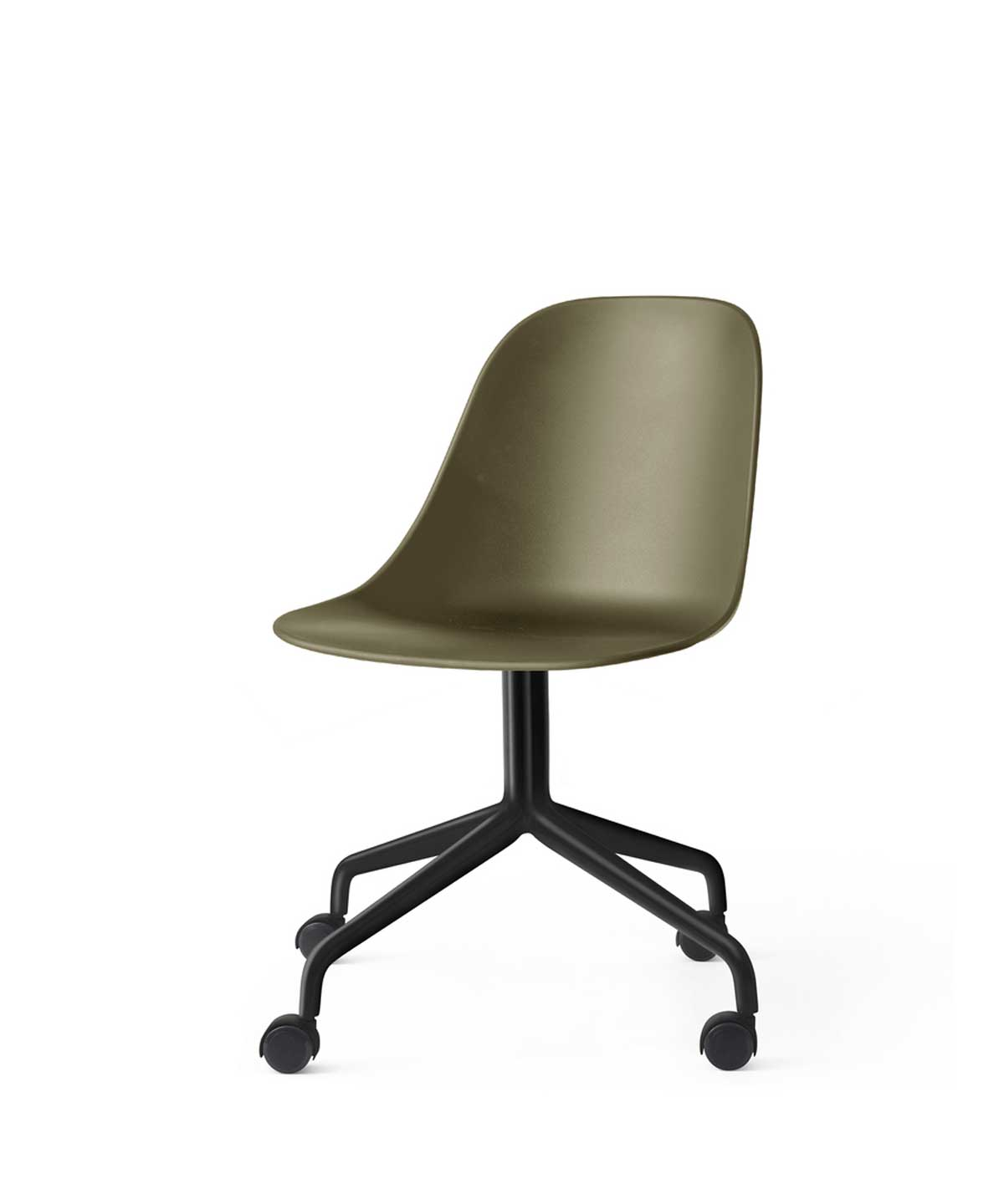 Harbour Side Office Chair with Casters, Plastic Shell