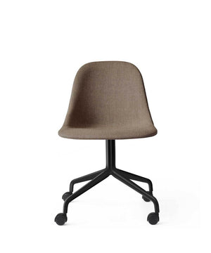 Harbour Side Office Chair with Casters, Upholstered