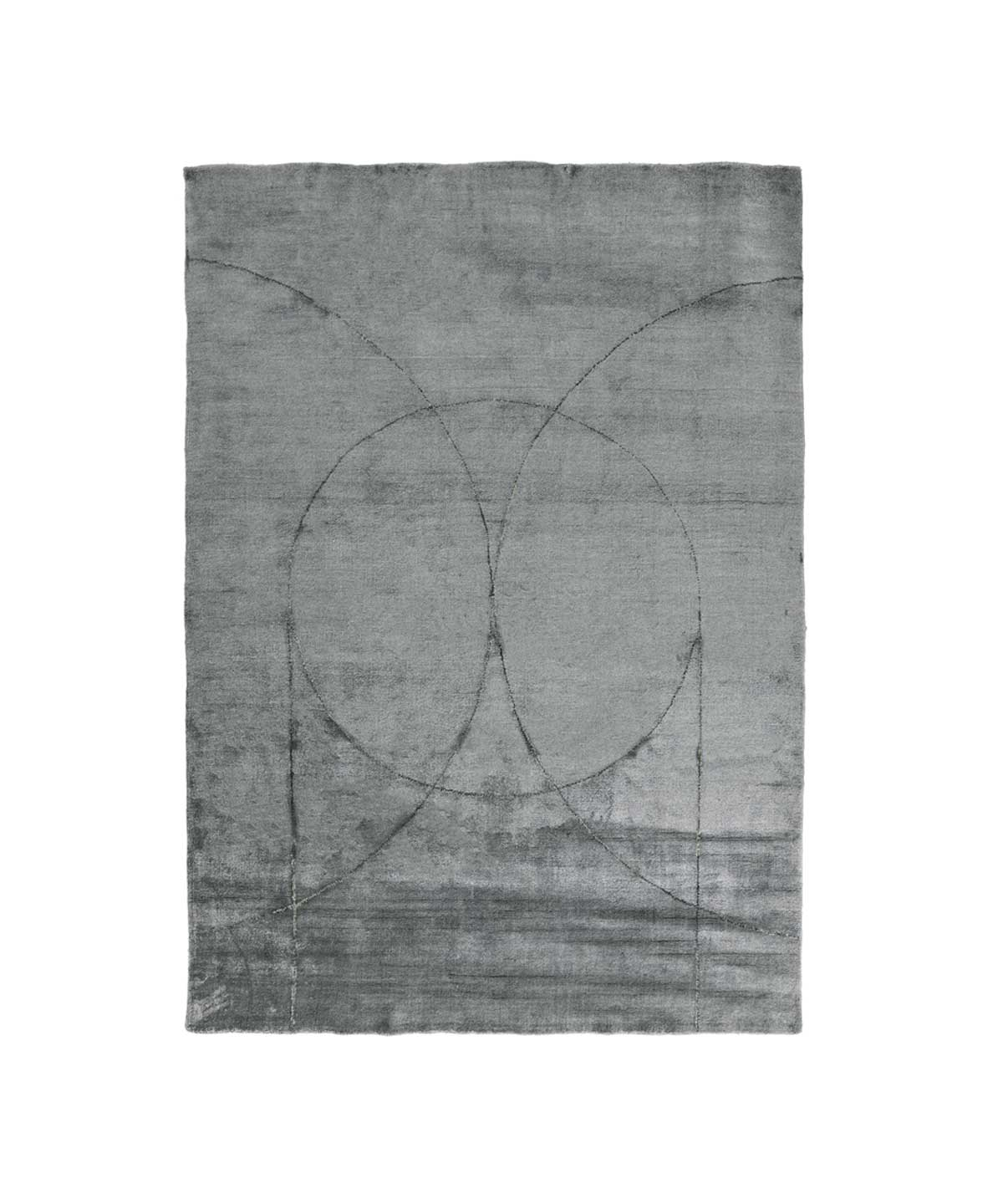 Circulus Rug in Grey