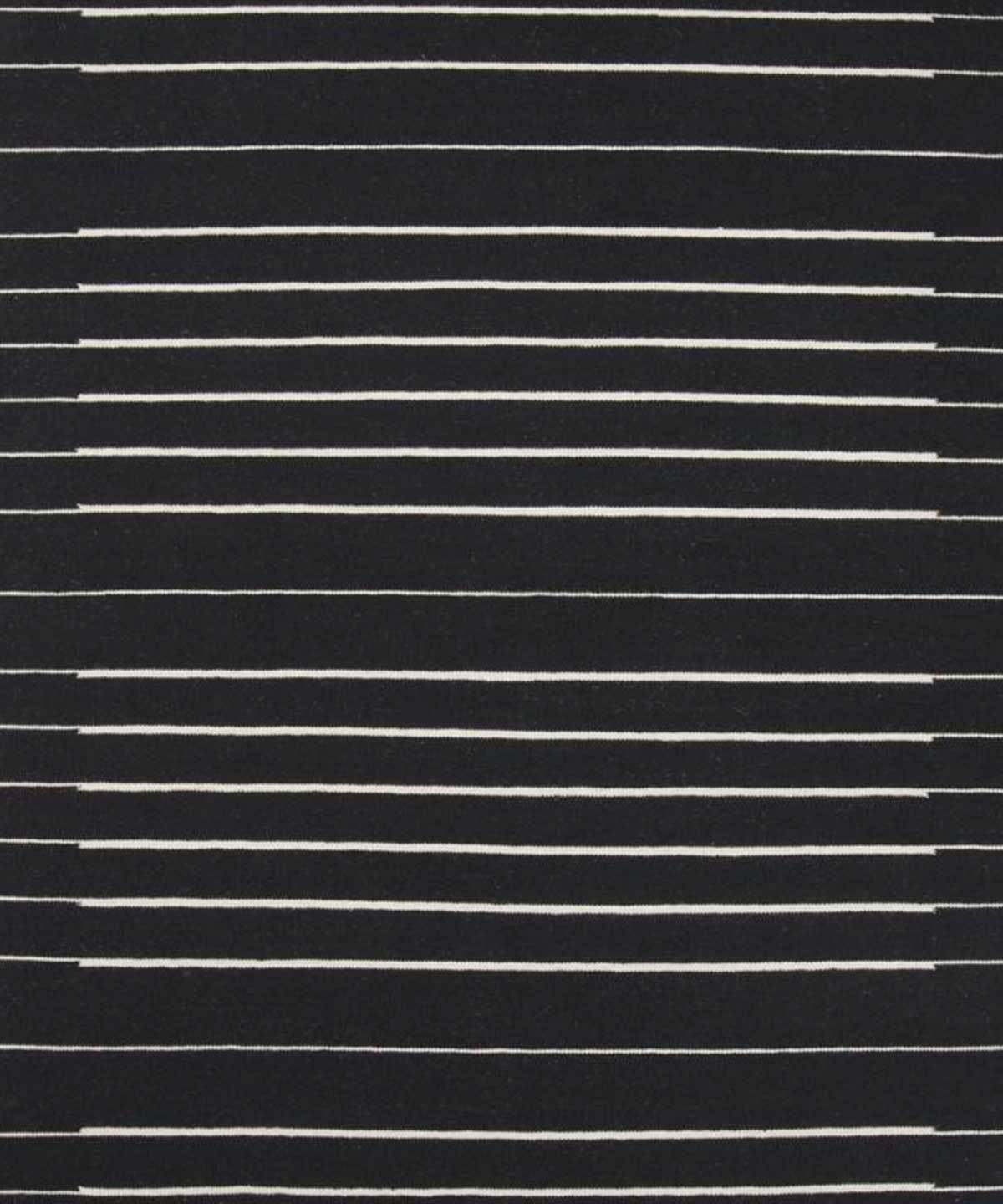 Piano Rug in Black by Loloi | TRNK