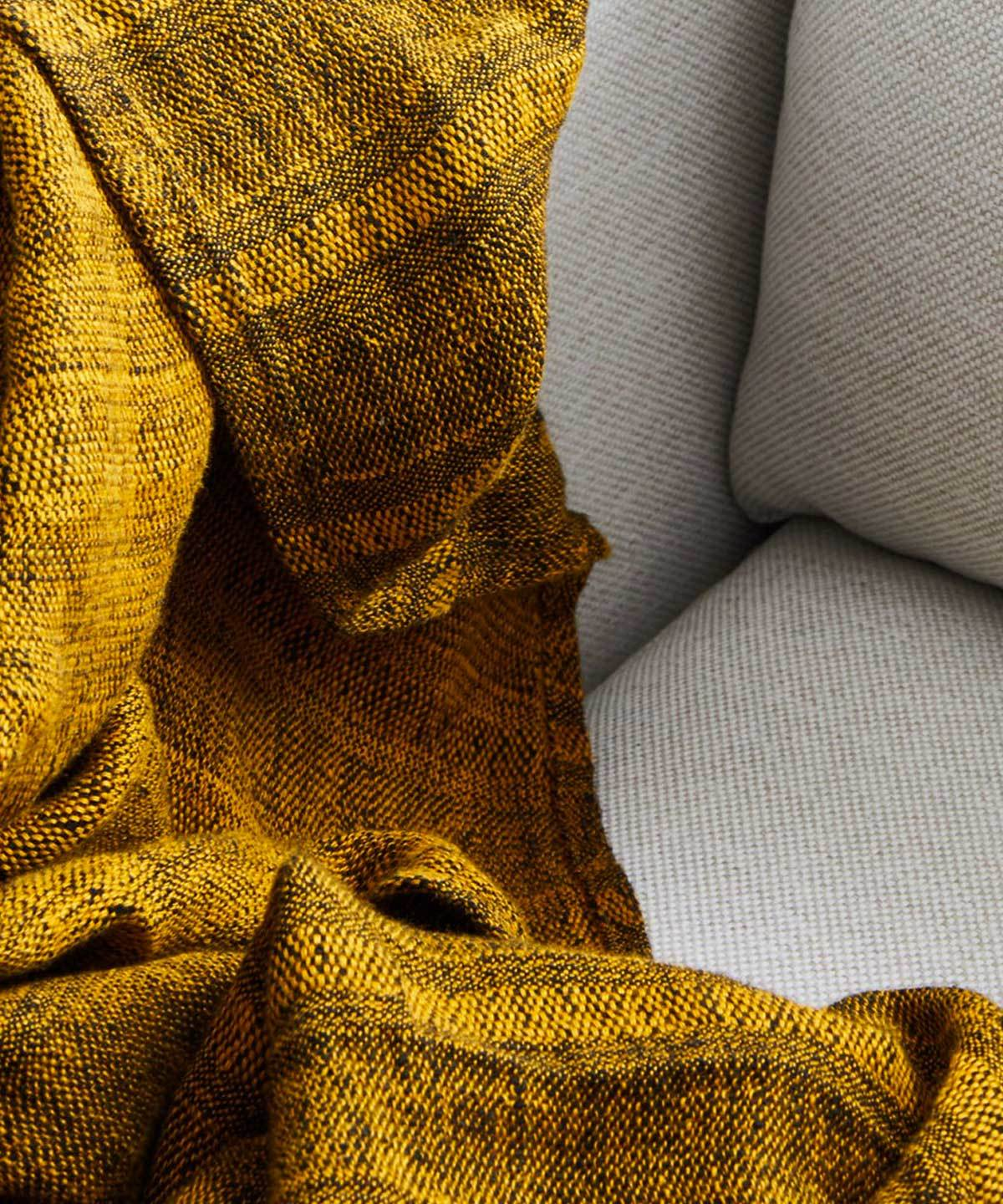 Chine Linen Throw by Loloi | TRNK