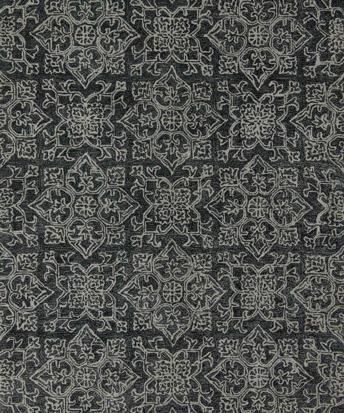 Filigree Rug in Charcoal by Loloi | TRNK