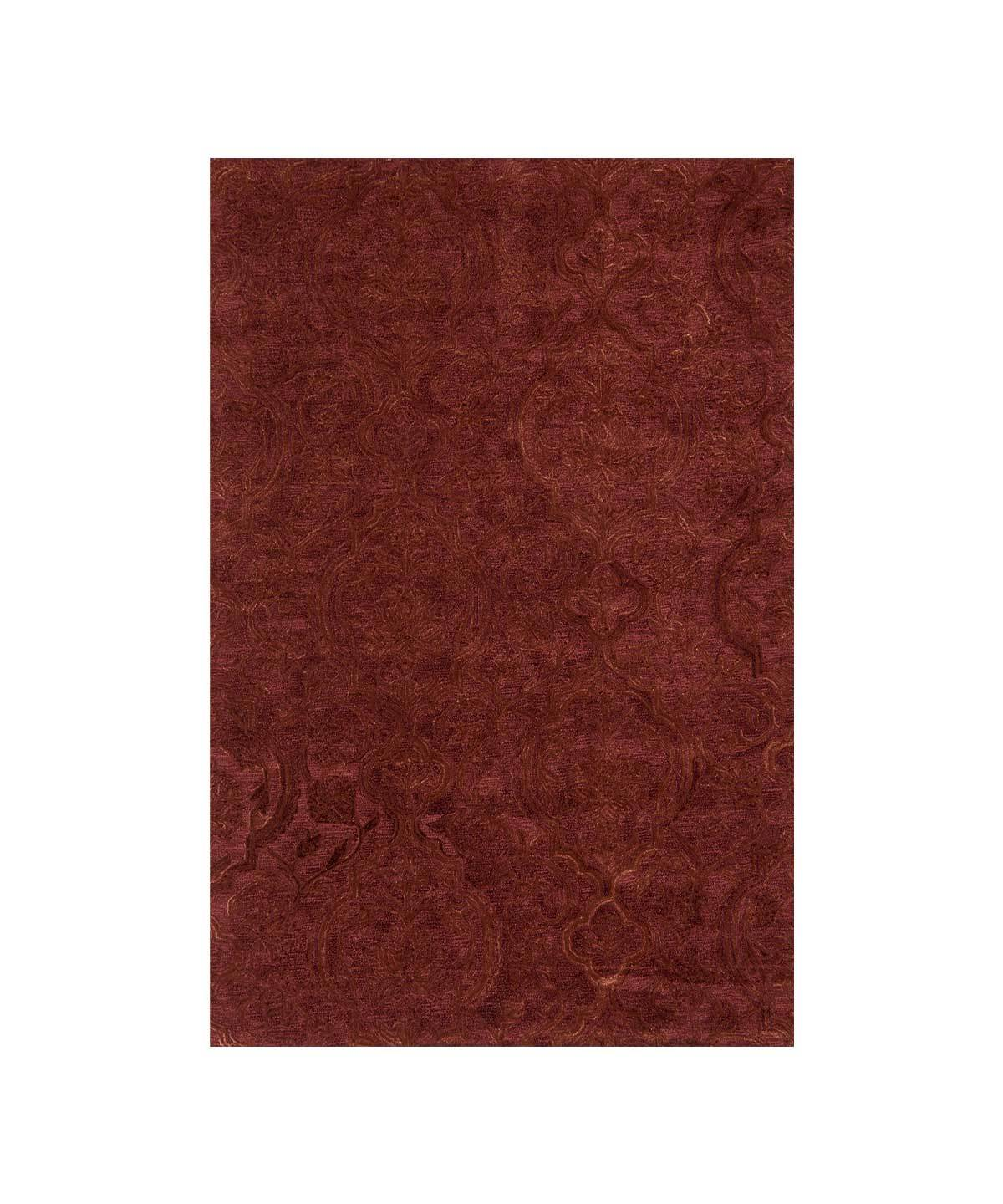 Filigree Rug in Rust by Loloi | TRNK