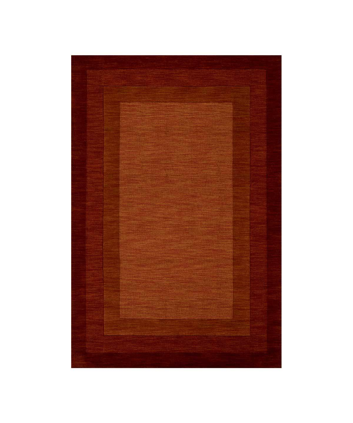 Hamilton Rug in Rust by Loloi | TRNK