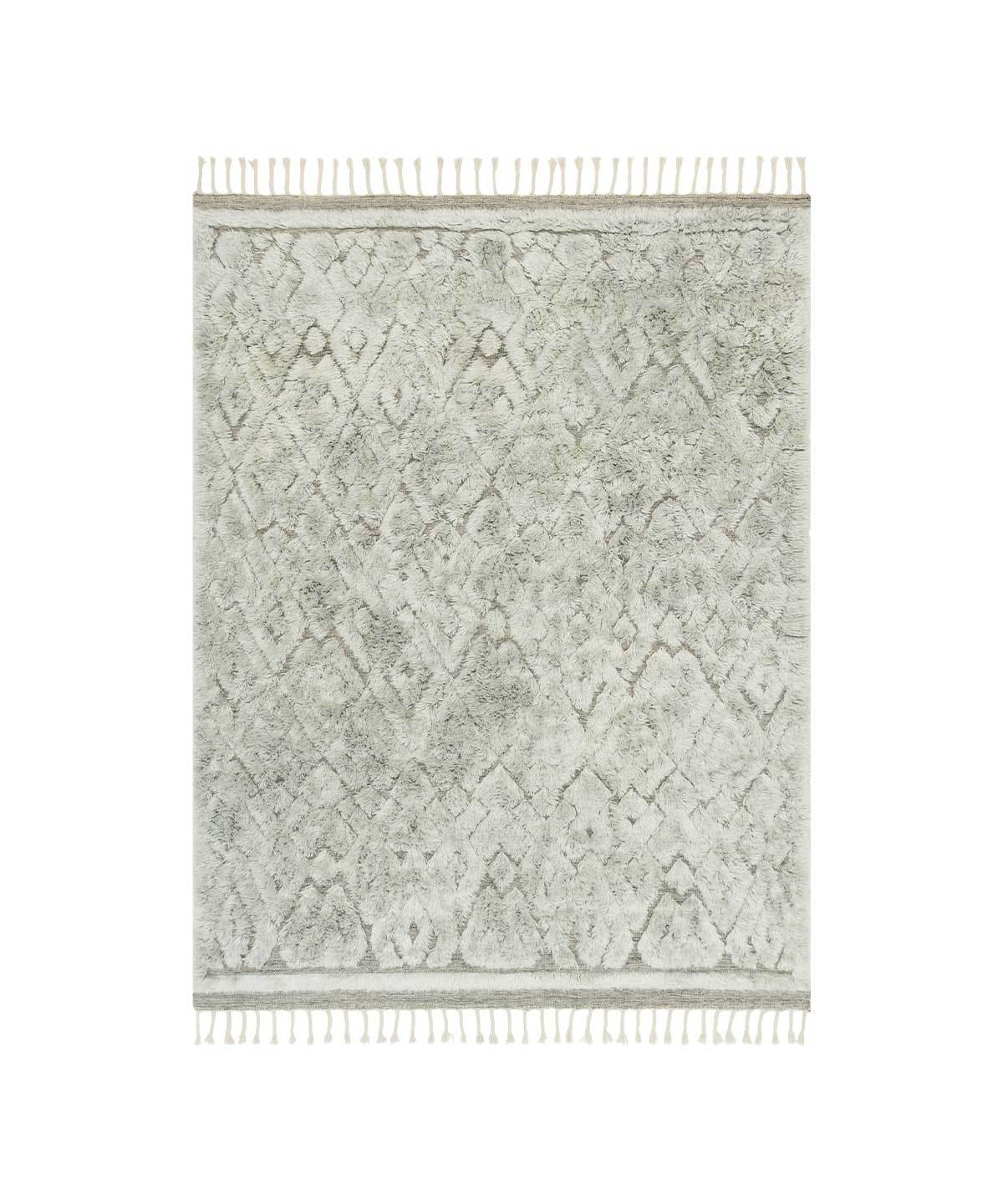 Hygge Rug in Grey / Mist by Loloi | TRNK