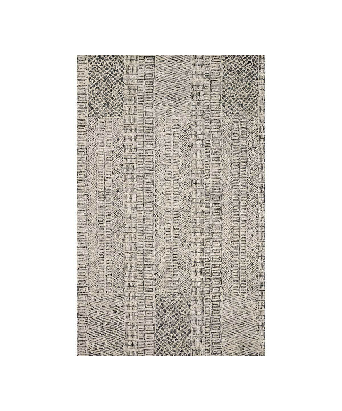 Peregrine Rug in Charcoal by Loloi | TRNK