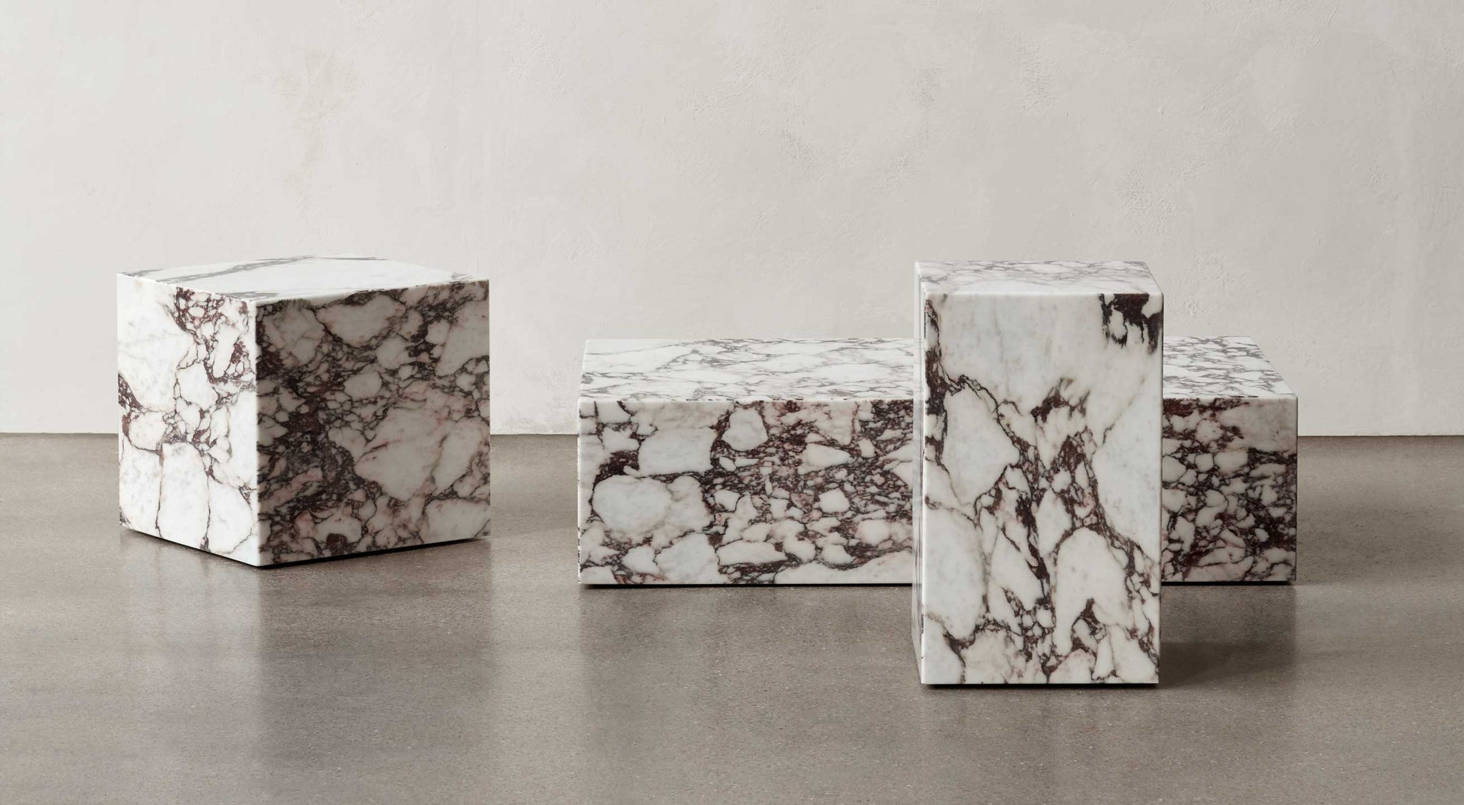 Marble Plinth Tables