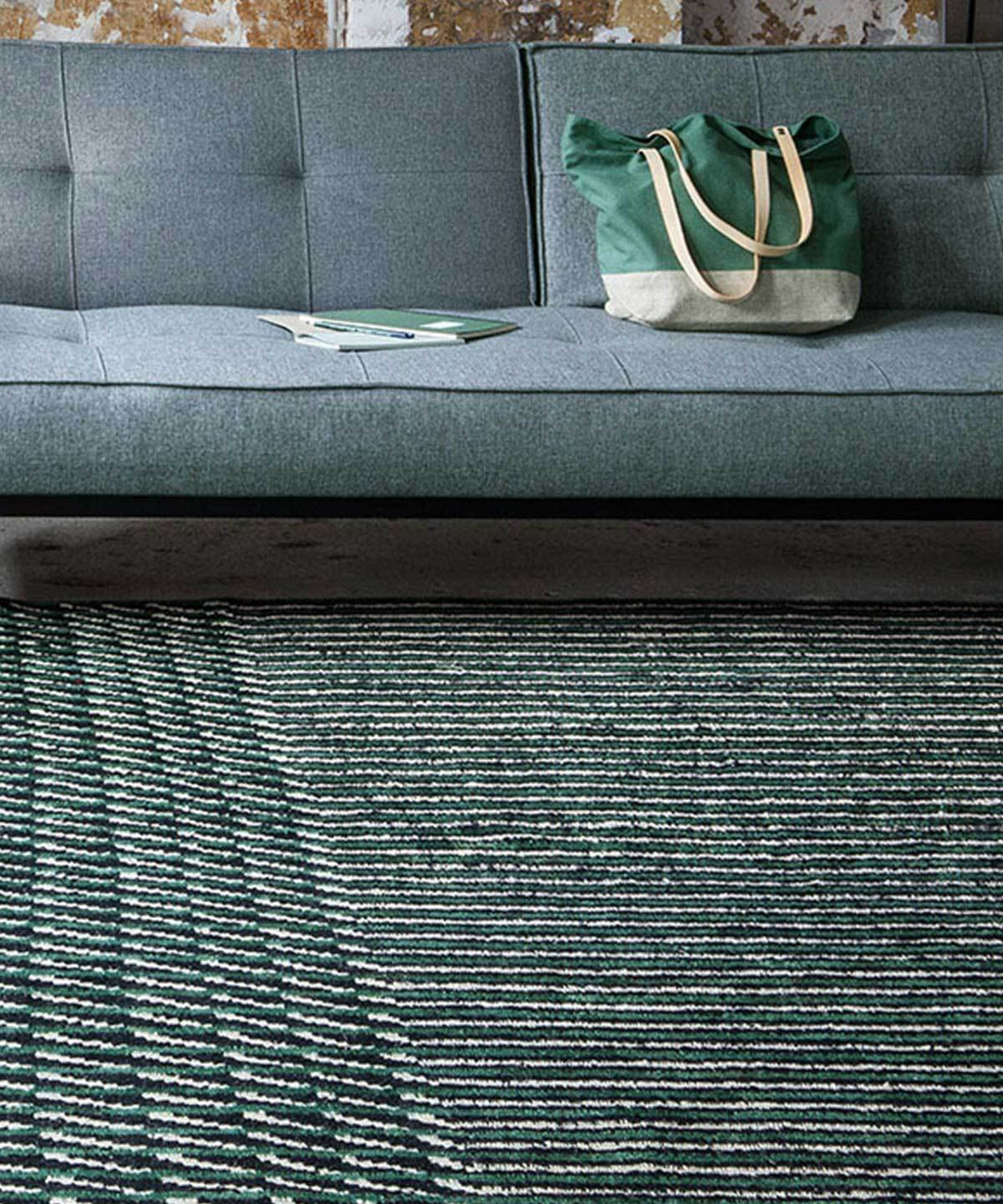 Blur Rug in Green by nanimarquina | TRNK