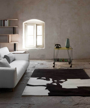 Chillida Rug in Collage 1966 by nanimarquina | TRNK