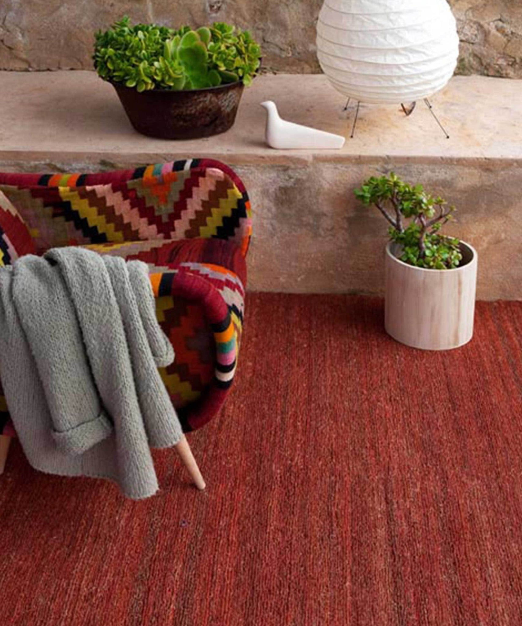 Earth Rug in Terracota by nanimarquina | TRNK