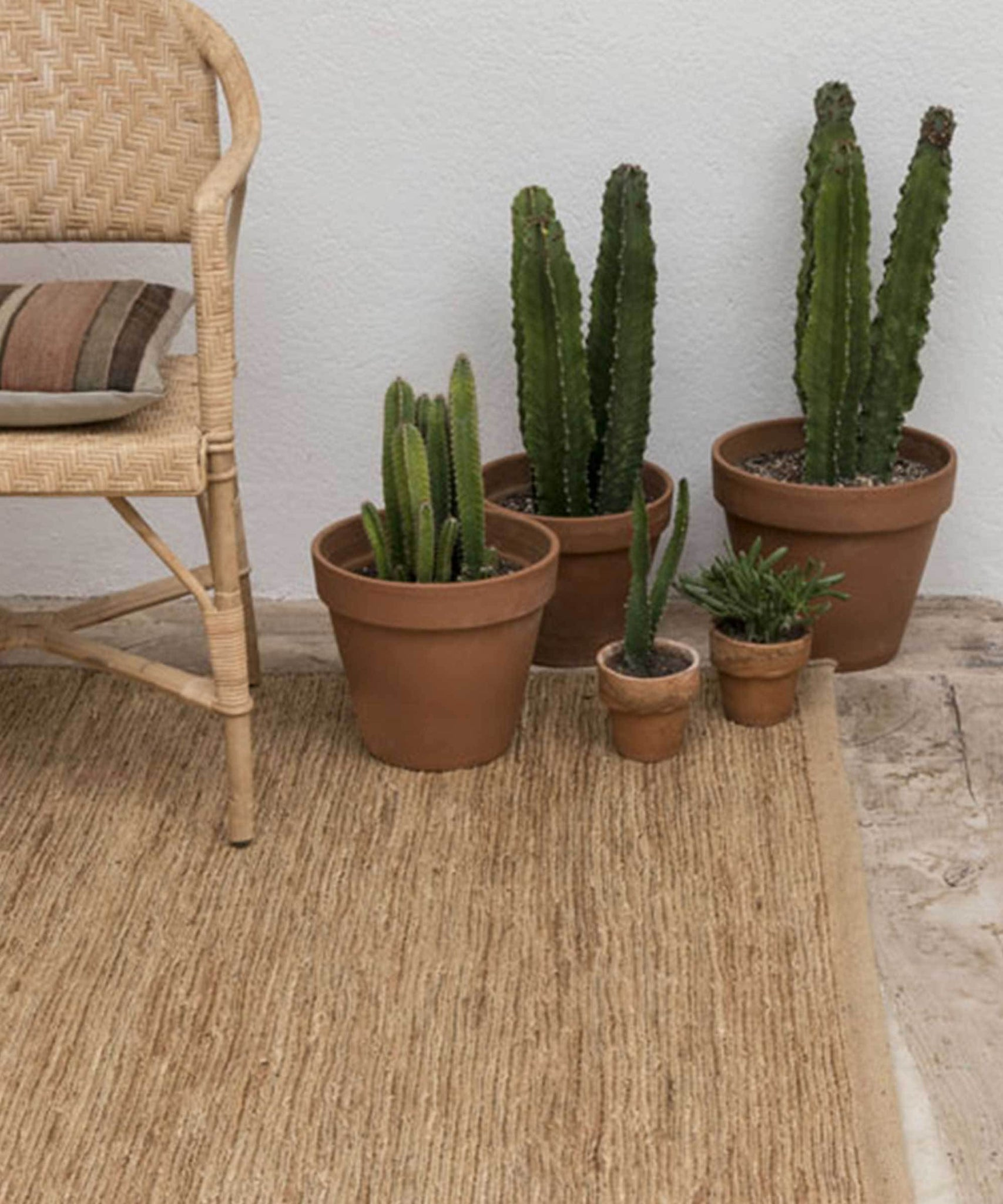 Knitted Rug in Natural by nanimarquina | TRNK