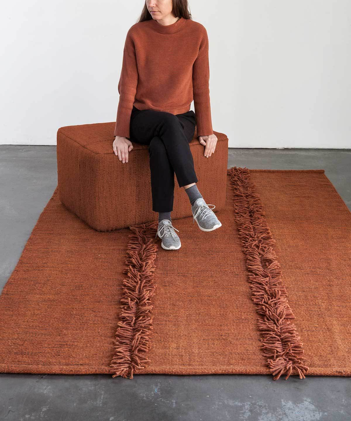 Mia Rug in Brick by nanimarquina | TRNK