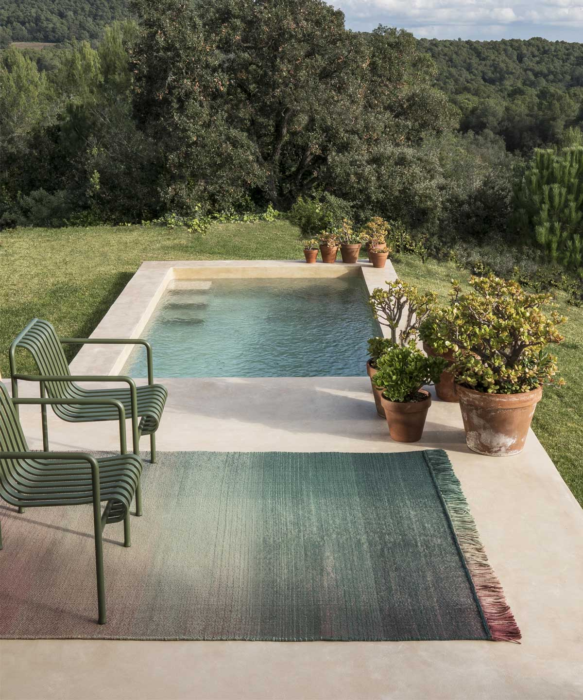 Shade Outdoor Rug In Palette 1