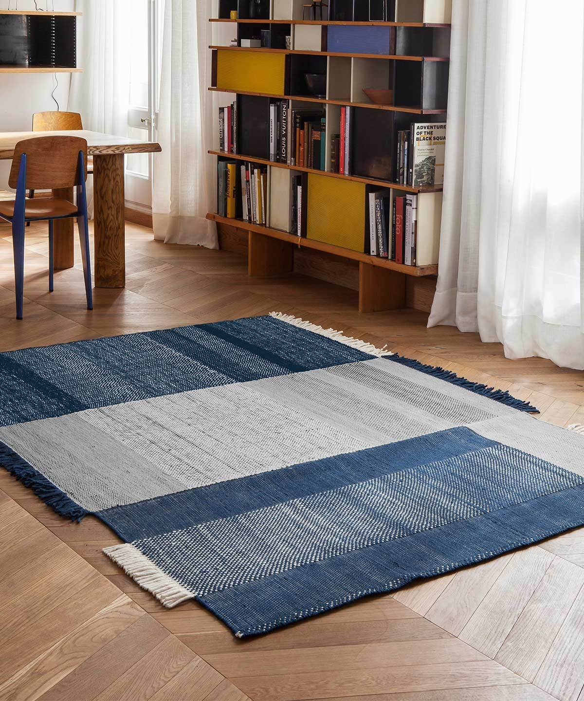 Tres Rug in Blue by nanimarquina | TRNK