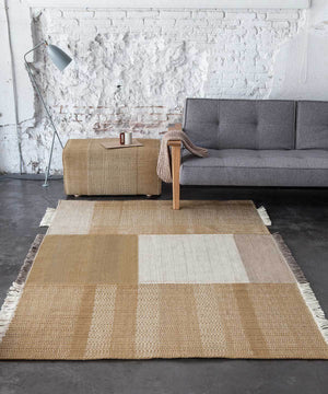 Tres Rug in Ochre by nanimarquina | TRNK
