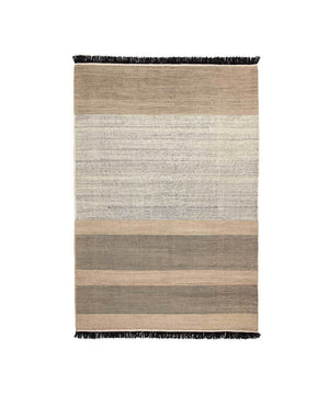 Tres Rug in Black Stripes by nanimarquina | TRNK