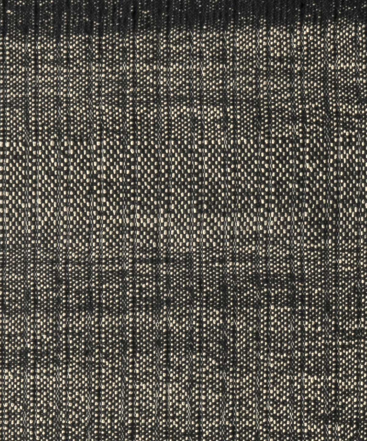 Tres Textura Outdoor Rug in Black