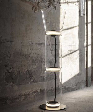 Noctambule Floor Lamp with Cone Shade