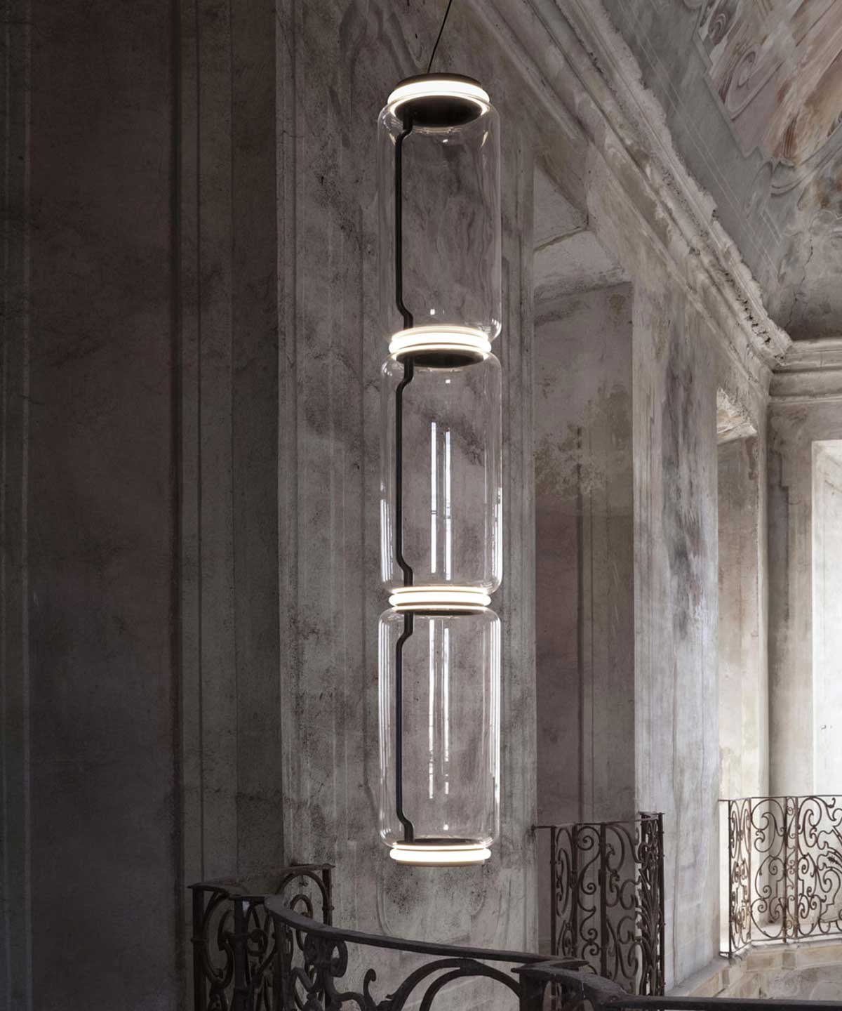 Noctambule Pendant Lamp with Cone Shade