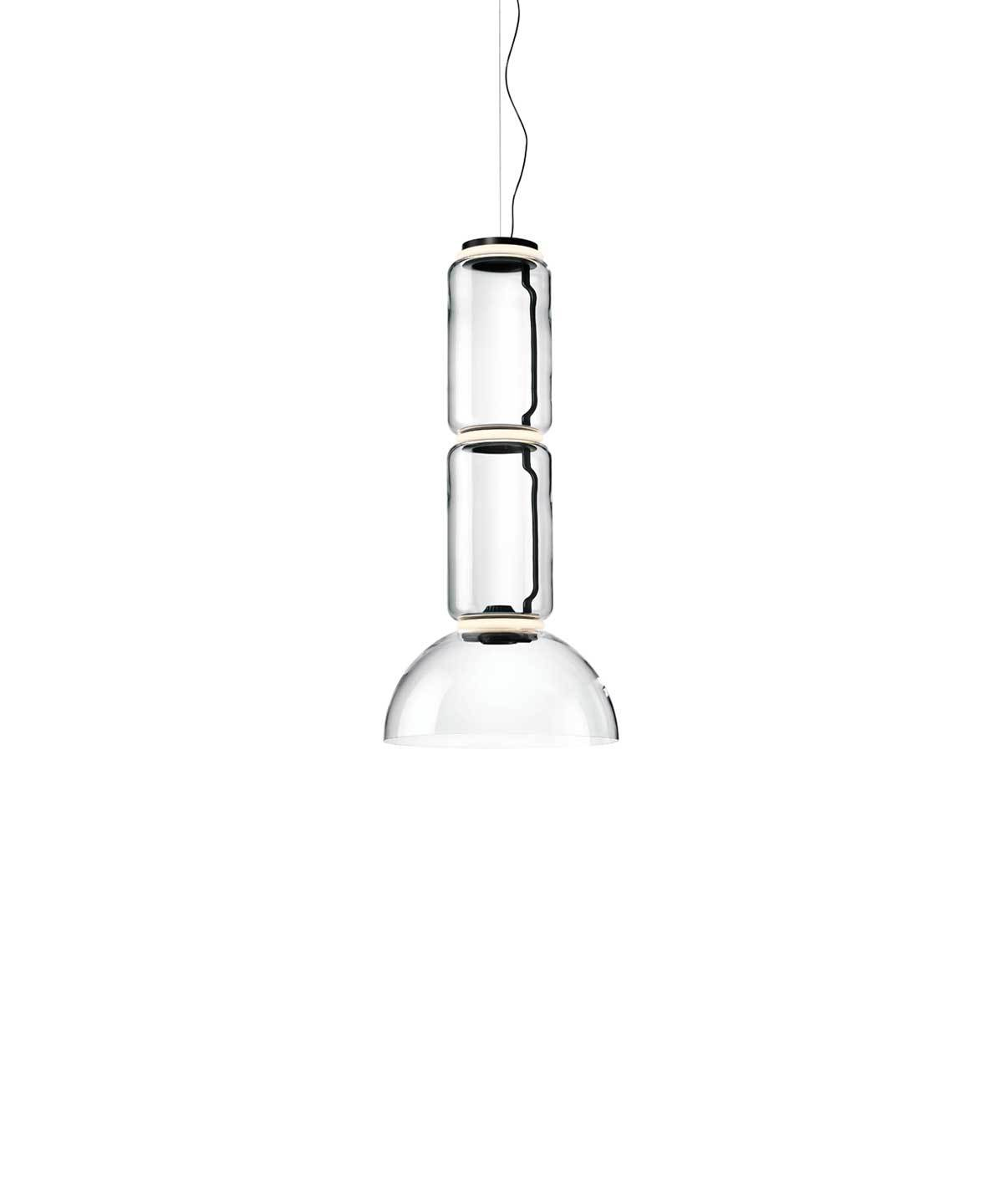 Noctambule Pendant Lamp with Bowl Shade