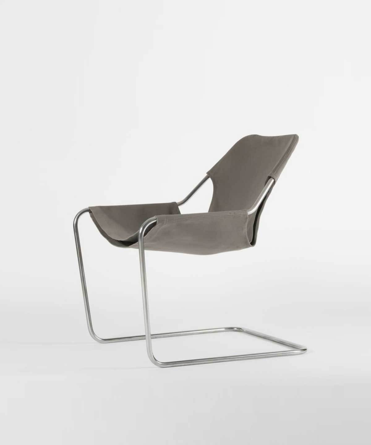 Paulistano Arm Chair in Canvas by Objekto | TRNK