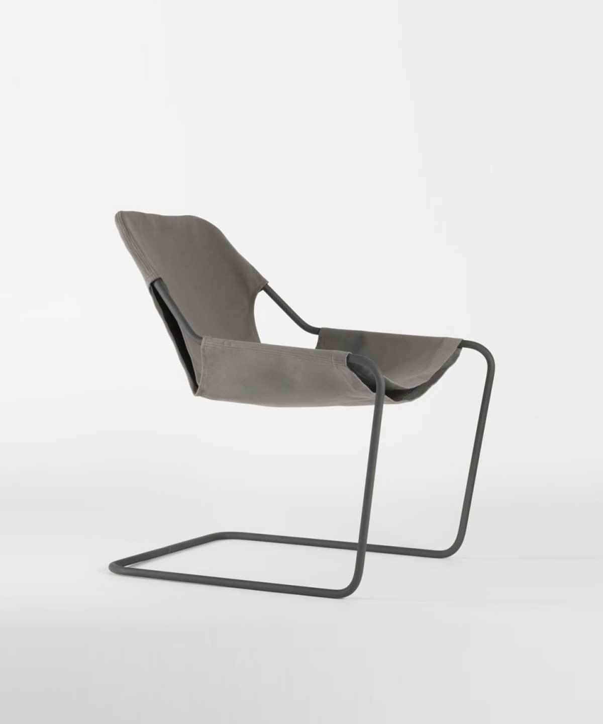 Paulistano Arm Chair in Canvas