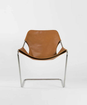 Paulistano Arm Chair in Leather by Objekto | TRNK