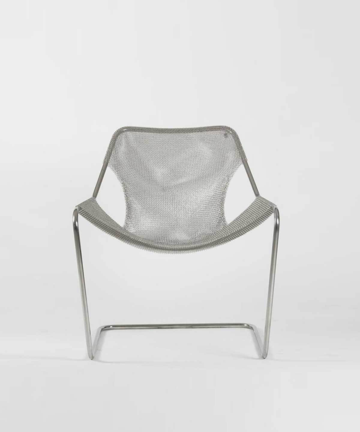 Paulistano Arm Chair in Mesh by Objekto | TRNK