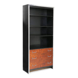 3 Milo Baughman Bookcases (Set of 3) - Showroom Sample