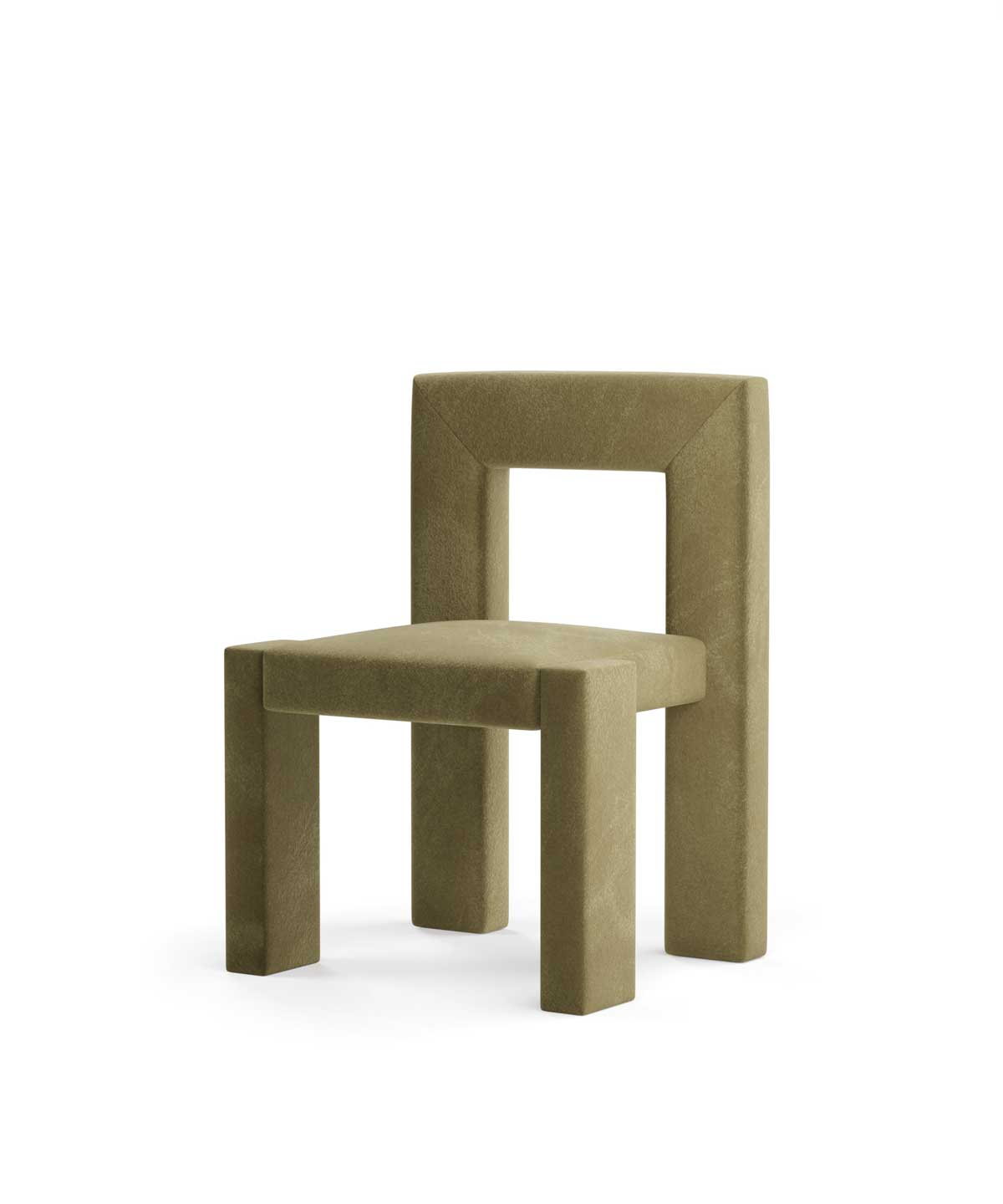 Angle II Armless Dining Chair