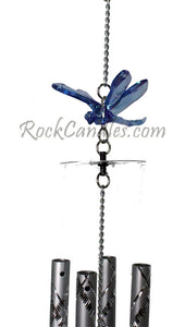"18"" Blue Acrylic Dragonfly Wind Chime"