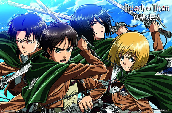 Attack on Titan-Swords Premium Wall Poster, 22
