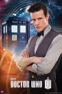 Doctor Who The Eleventh Doctor (Matt Smith) Sci Fi British TV Television Show Poster 24x36