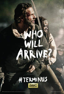 The Walking Dead - Terminus Rick and Michonne Poster Print, 24x36