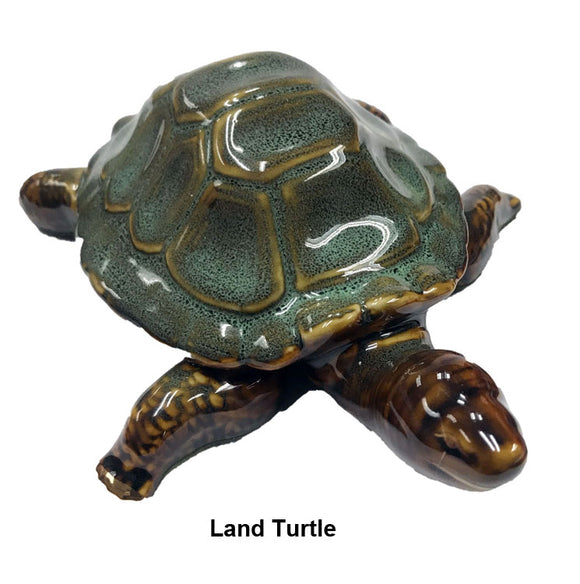 Large Land & Sea Turtle Porcelain Turtle