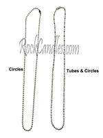 Ball Chain Necklace 16-18 inches