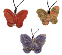 Butterfly Pendant Necklace Assorted