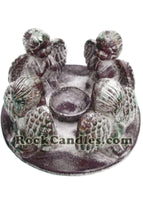 Large Circle of Angels candle holder