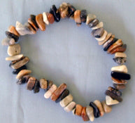 Crazy Agate Chip Bracelet