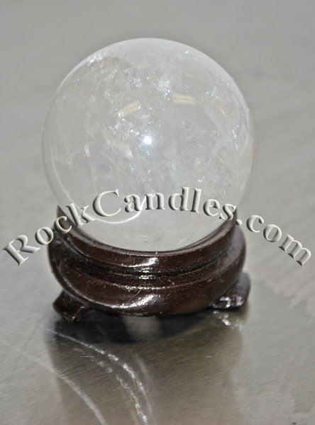 Rock Crystal Polished Sphere