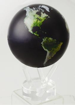 "4.5"" MOVA Globe in Satellite Natural Earth"