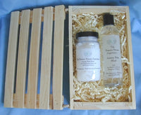 Gift Crate of Vanilla Dreams Bath Salts and Body Wash
