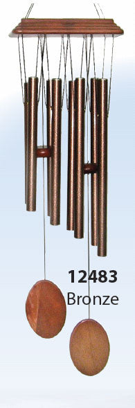 Hand Tuned Wind Chime Bronze