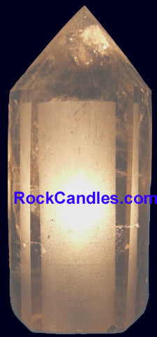 Full Polished Quartz Point Lamp