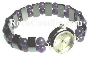 Magnetic Semi-Precious Stone Watch