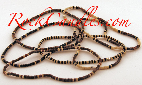 Coco Bead Necklaces Assorted