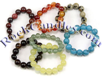 Powerbead 4mm Gemstone Rings- Assorted