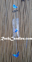 Blue Acrylic Butterfly Wind Chime